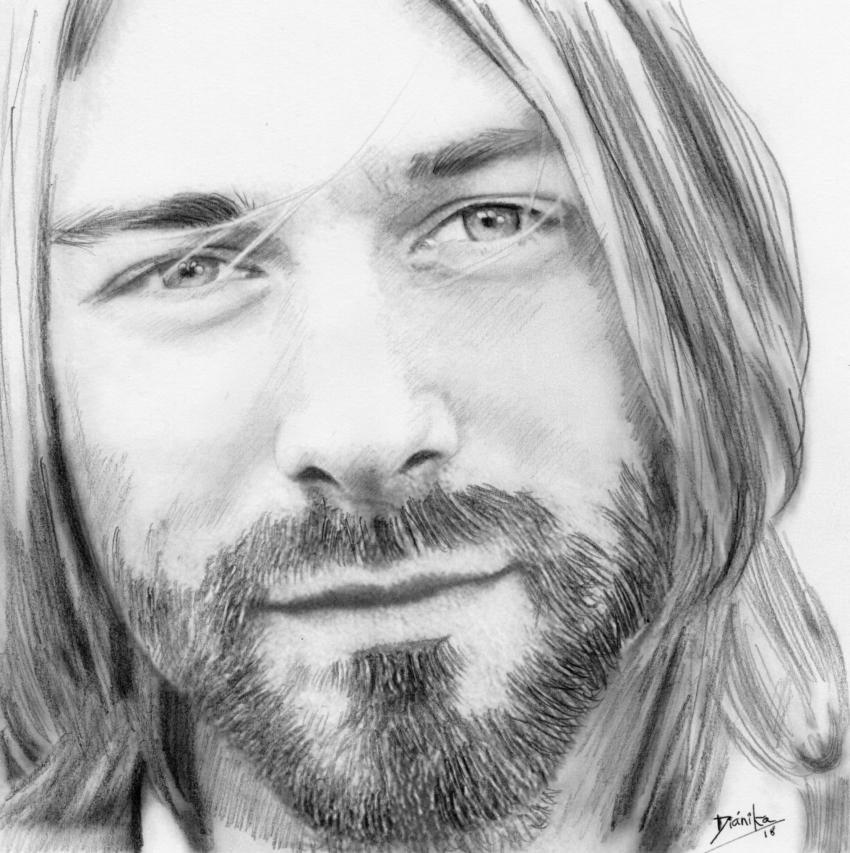Kurt Cobain par Dianika